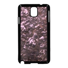 Pink Rainbow Shimmering Mother of Pearl Samsung Galaxy Note 3 Neo Hardshell Case (Black)