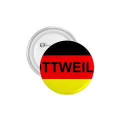 Rottweiler Name On Flag 1.75  Buttons