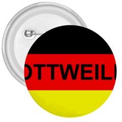 Rottweiler Name On Flag 3  Buttons