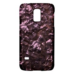 Pink Rainbow Shimmering Mother of Pearl Galaxy S5 Mini