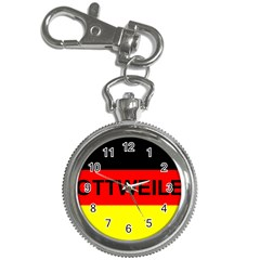 Rottweiler Name On Flag Key Chain Watches