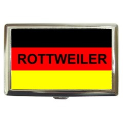 Rottweiler Name On Flag Cigarette Money Cases