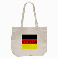 Rottweiler Name On Flag Tote Bag (Cream)