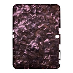 Pink Rainbow Shimmering Mother of Pearl Samsung Galaxy Tab 4 (10.1 ) Hardshell Case
