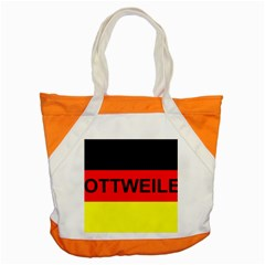 Rottweiler Name On Flag Accent Tote Bag