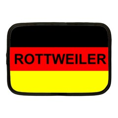 Rottweiler Name On Flag Netbook Case (Medium)