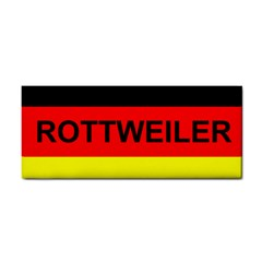 Rottweiler Name On Flag Cosmetic Storage Cases