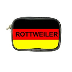 Rottweiler Name On Flag Coin Purse