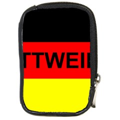 Rottweiler Name On Flag Compact Camera Cases