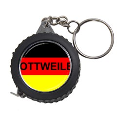 Rottweiler Name On Flag Measuring Tapes