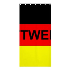 Rottweiler Name On Flag Shower Curtain 36  x 72  (Stall)