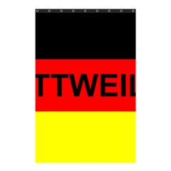Rottweiler Name On Flag Shower Curtain 48  x 72  (Small)