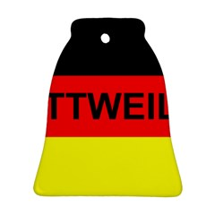 Rottweiler Name On Flag Ornament (Bell)