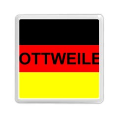 Rottweiler Name On Flag Memory Card Reader (Square)