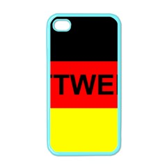 Rottweiler Name On Flag Apple iPhone 4 Case (Color)