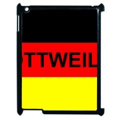 Rottweiler Name On Flag Apple iPad 2 Case (Black)