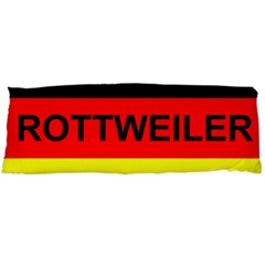 Rottweiler Name On Flag Body Pillow Case (Dakimakura)