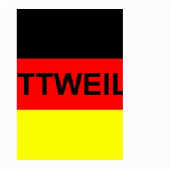 Rottweiler Name On Flag Large Garden Flag (Two Sides)