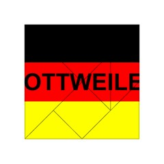 Rottweiler Name On Flag Acrylic Tangram Puzzle (4  x 4 )
