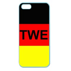 Rottweiler Name On Flag Apple Seamless iPhone 5 Case (Color)