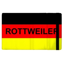 Rottweiler Name On Flag Apple iPad 3/4 Flip Case