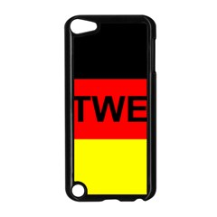 Rottweiler Name On Flag Apple iPod Touch 5 Case (Black)