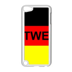 Rottweiler Name On Flag Apple iPod Touch 5 Case (White)