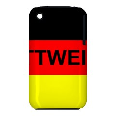 Rottweiler Name On Flag iPhone 3S/3GS
