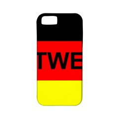Rottweiler Name On Flag Apple iPhone 5 Classic Hardshell Case (PC+Silicone)