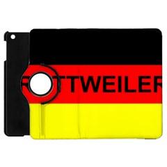 Rottweiler Name On Flag Apple iPad Mini Flip 360 Case