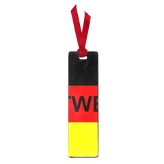 Rottweiler Name On Flag Small Book Marks