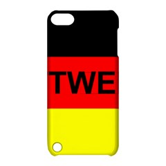 Rottweiler Name On Flag Apple iPod Touch 5 Hardshell Case with Stand