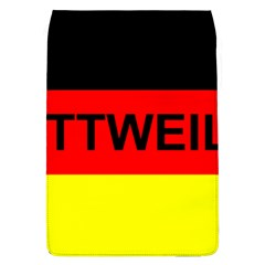 Rottweiler Name On Flag Flap Covers (L)