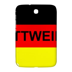 Rottweiler Name On Flag Samsung Galaxy Note 8.0 N5100 Hardshell Case