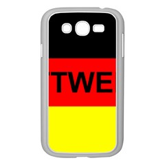 Rottweiler Name On Flag Samsung Galaxy Grand DUOS I9082 Case (White)