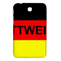 Rottweiler Name On Flag Samsung Galaxy Tab 3 (7 ) P3200 Hardshell Case