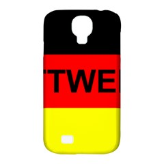 Rottweiler Name On Flag Samsung Galaxy S4 Classic Hardshell Case (PC+Silicone)