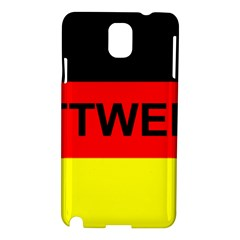 Rottweiler Name On Flag Samsung Galaxy Note 3 N9005 Hardshell Case