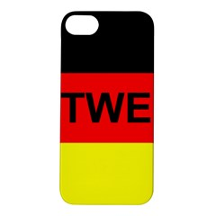 Rottweiler Name On Flag Apple iPhone 5S/ SE Hardshell Case