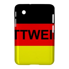 Rottweiler Name On Flag Samsung Galaxy Tab 2 (7 ) P3100 Hardshell Case