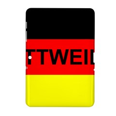 Rottweiler Name On Flag Samsung Galaxy Tab 2 (10.1 ) P5100 Hardshell Case