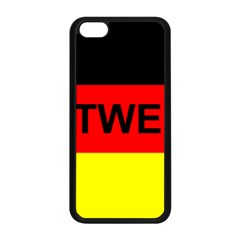 Rottweiler Name On Flag Apple iPhone 5C Seamless Case (Black)