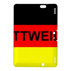 Rottweiler Name On Flag Kindle Fire HDX 8.9  Hardshell Case