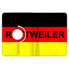 Rottweiler Name On Flag Kindle Fire HDX Flip 360 Case