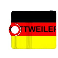 Rottweiler Name On Flag Kindle Fire HDX 8.9  Flip 360 Case