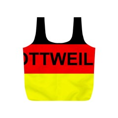 Rottweiler Name On Flag Full Print Recycle Bags (S)