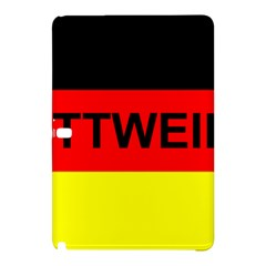 Rottweiler Name On Flag Samsung Galaxy Tab Pro 10.1 Hardshell Case