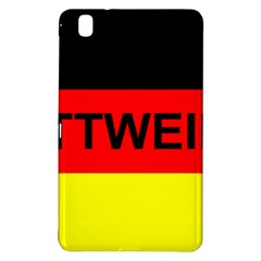 Rottweiler Name On Flag Samsung Galaxy Tab Pro 8.4 Hardshell Case