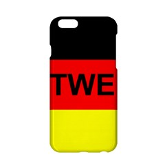 Rottweiler Name On Flag Apple iPhone 6/6S Hardshell Case