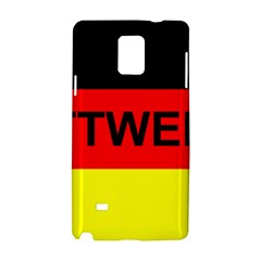 Rottweiler Name On Flag Samsung Galaxy Note 4 Hardshell Case